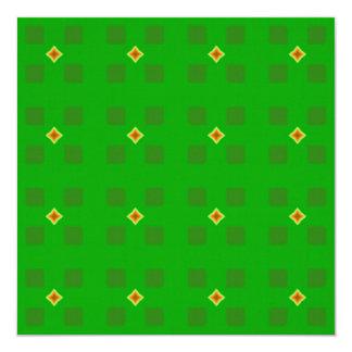 Estrelas vermelhas e amarelas que Crafting o papel Convite Quadrado 13.35 X 13.35cm