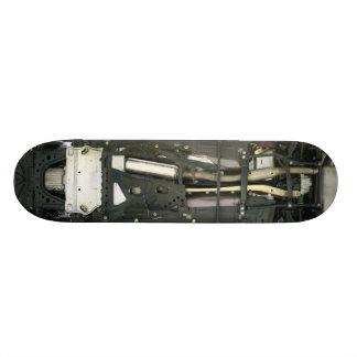 Estrutura do carro shape de skate 18,1cm