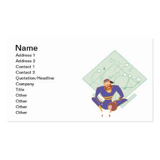 Estudante de The Game Cartão De Visita