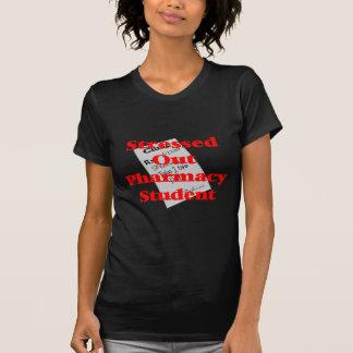 estudante para fora forçado da farmácia t-shirts