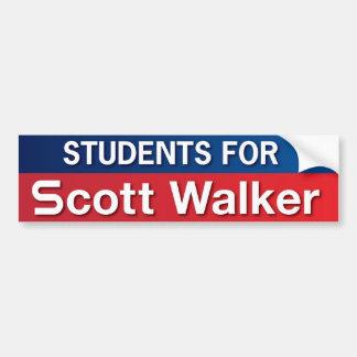 Estudantes para o caminhante de Scott Adesivos