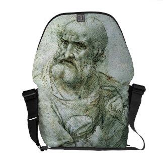 Estude para um apóstolo da última ceia, c.1495 bolsas mensageiro