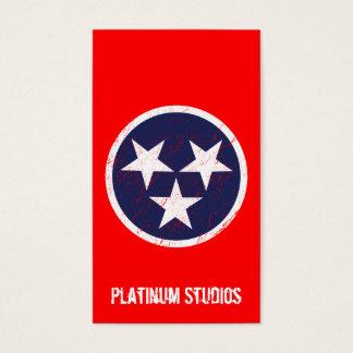 Estúdio da música do Grunge da bandeira do estado Cartão De Visitas
