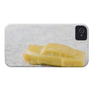 Estúdio disparado do carro antiquado do brinquedo capa para iPhone