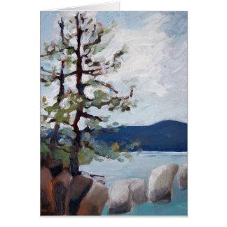 Estudo de Lake Tahoe Cartão De Nota