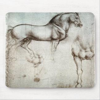 Estudo dos cavalos - Leonardo da Vinci Mouse Pads