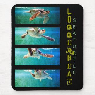 Estudo Mousepad da tartaruga de mar da boba