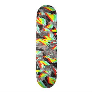 Esvoir Camo Trippy Shape De Skate 20,6cm