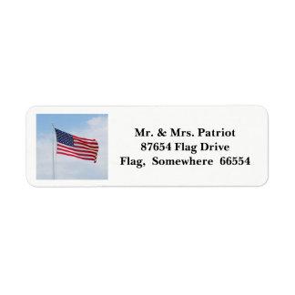 Etiqueta 2017 da bandeira do Memorial Day
