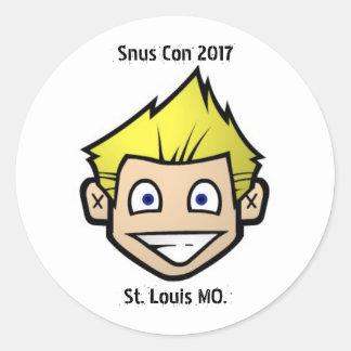 Etiqueta 2017 do engodo de Snubie Snus