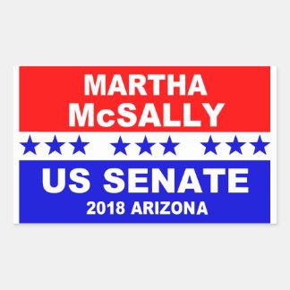 Etiqueta 2018 da arizona do Senado de Martha
