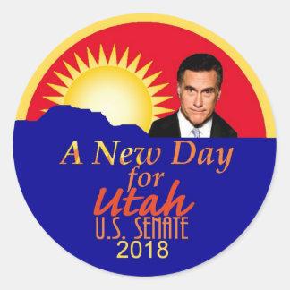 Etiqueta 2018 do Senado de Mitt Romney