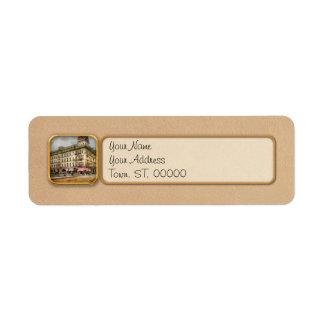 Etiqueta A cidade - Toledo OH - recebeu uma chamada 1910 de