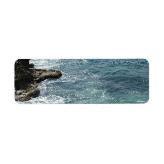 Etiqueta A praia encontra o oceano