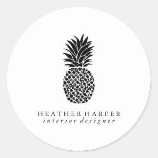 Etiqueta - abacaxi