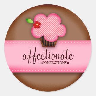 Etiqueta afectuosa dos doces do GC Adesivo