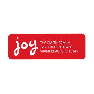 Etiqueta Alegria | bonito e feriados vermelhos do Natal do