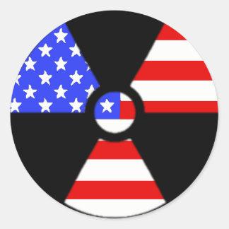 Etiqueta americana da radiologia