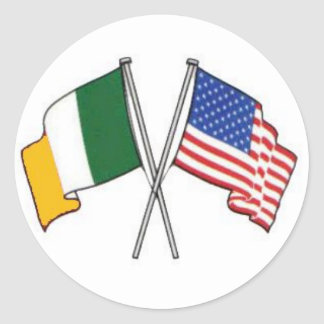 Etiqueta americana irlandesa