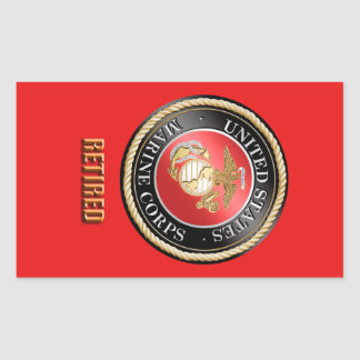 Etiqueta aposentada USMC