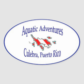 Etiqueta aquática das aventuras