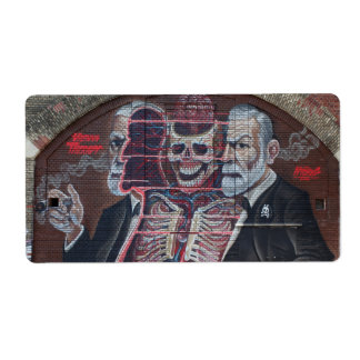 Etiqueta Arte da rua de Sigmund Freud