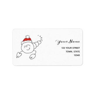 Etiqueta Astrologia do papai noel do Natal do sinal da