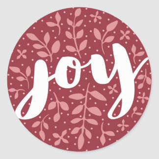 Etiqueta astuta | Borgonha do feriado da alegria