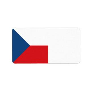 Etiqueta Bandeira da república checa