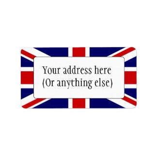 Etiqueta Bandeira de união