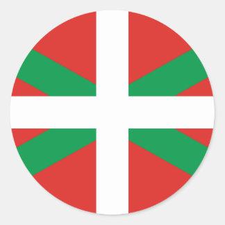 Etiqueta Basque da bandeira