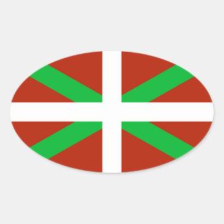 Etiqueta Basque de Ikurrina da bandeira