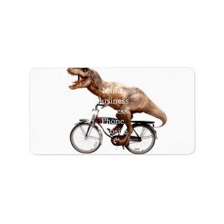 Etiqueta Bicicleta da equitação de Trex