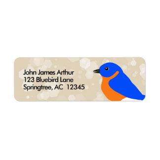 Etiqueta Bluebird oriental