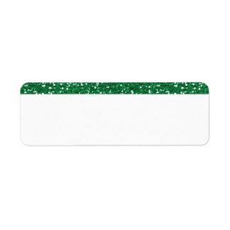 Etiqueta Brilho verde