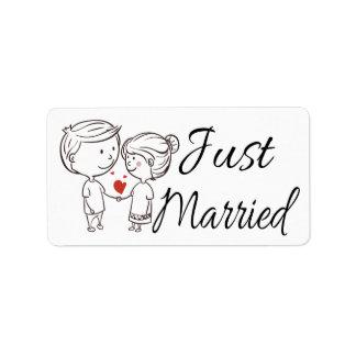 Etiqueta Casamento vermelho branco preto da noiva & do