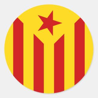 Etiqueta Catalan da bandeira