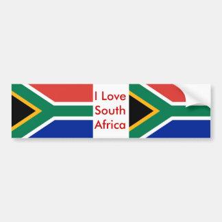 Etiqueta com a bandeira de África do Sul Adesivo Para Carro