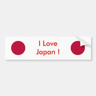Etiqueta com a bandeira de Japão Adesivo Para Carro