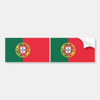 Etiqueta com a bandeira de Portugal Adesivo Para Carro