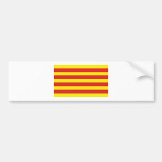 """Etiqueta com Bandeira Catalão """"Serenya """" Adesivo Para Carro"""