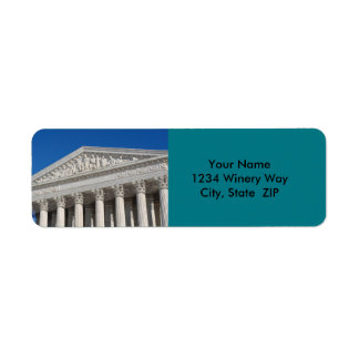 Etiqueta Corte suprema dos Estados Unidos