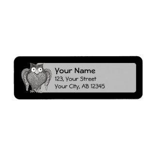 Etiqueta Coruja que você precisa