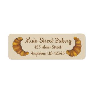 Etiqueta Cozinheiro chefe personalizado da padaria do