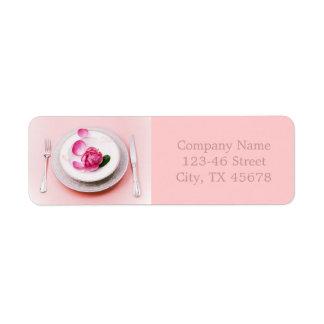 Etiqueta cozinheiro chefe pessoal de abastecimento da placa