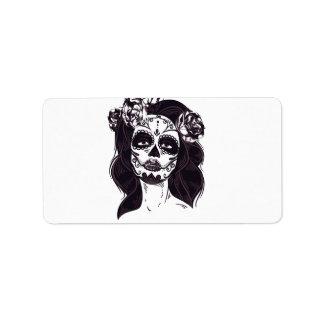 Etiqueta Crânio da máscara