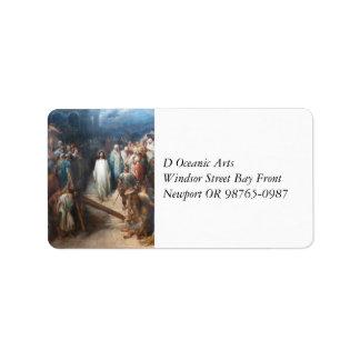 Etiqueta Cristo que deixa Praetorium