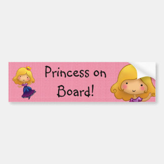 Etiqueta customisable da princesa a bordo adesivo para carro