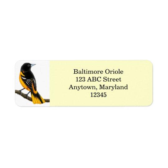 Etiqueta customizável de Avery do pássaro de Etiqueta Endereço De Retorno