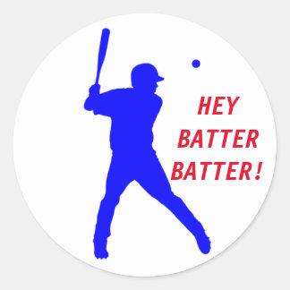 Etiqueta customizável do basebol com massa